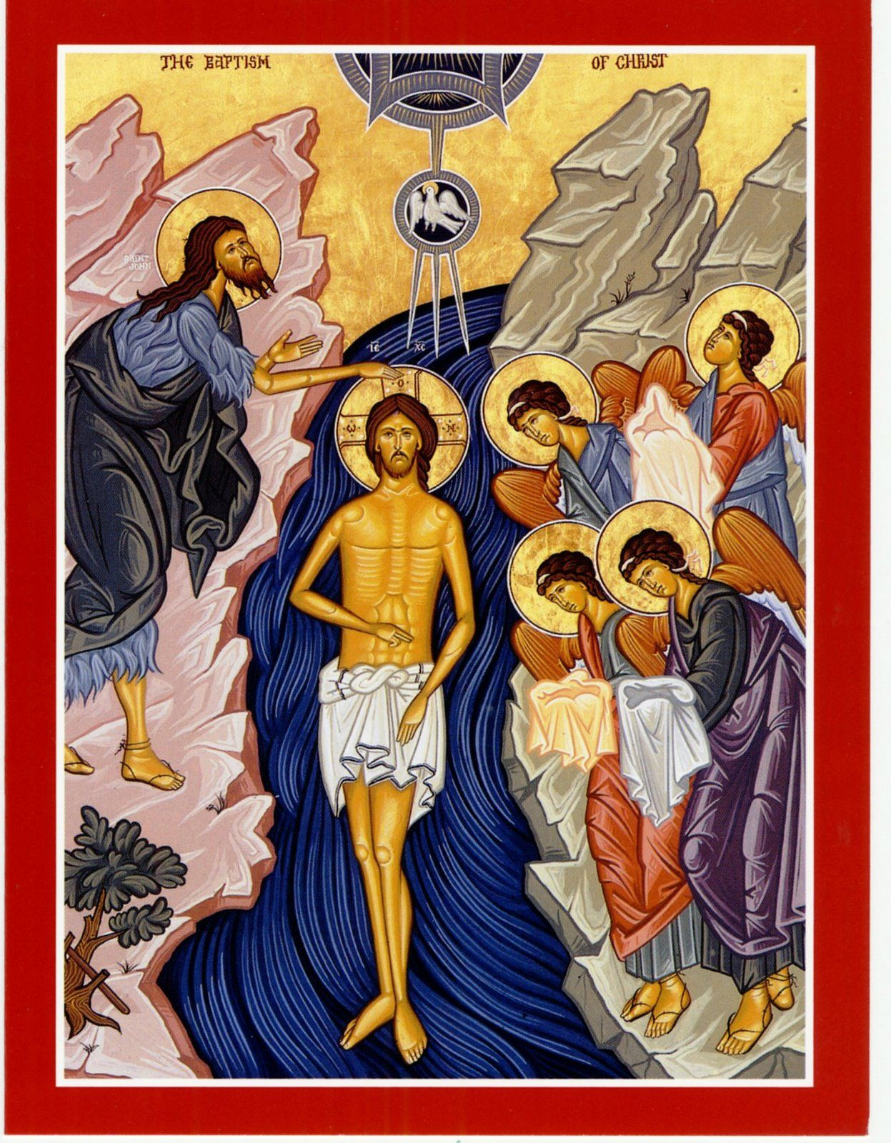 Image result for icon Baptism of the Lord""