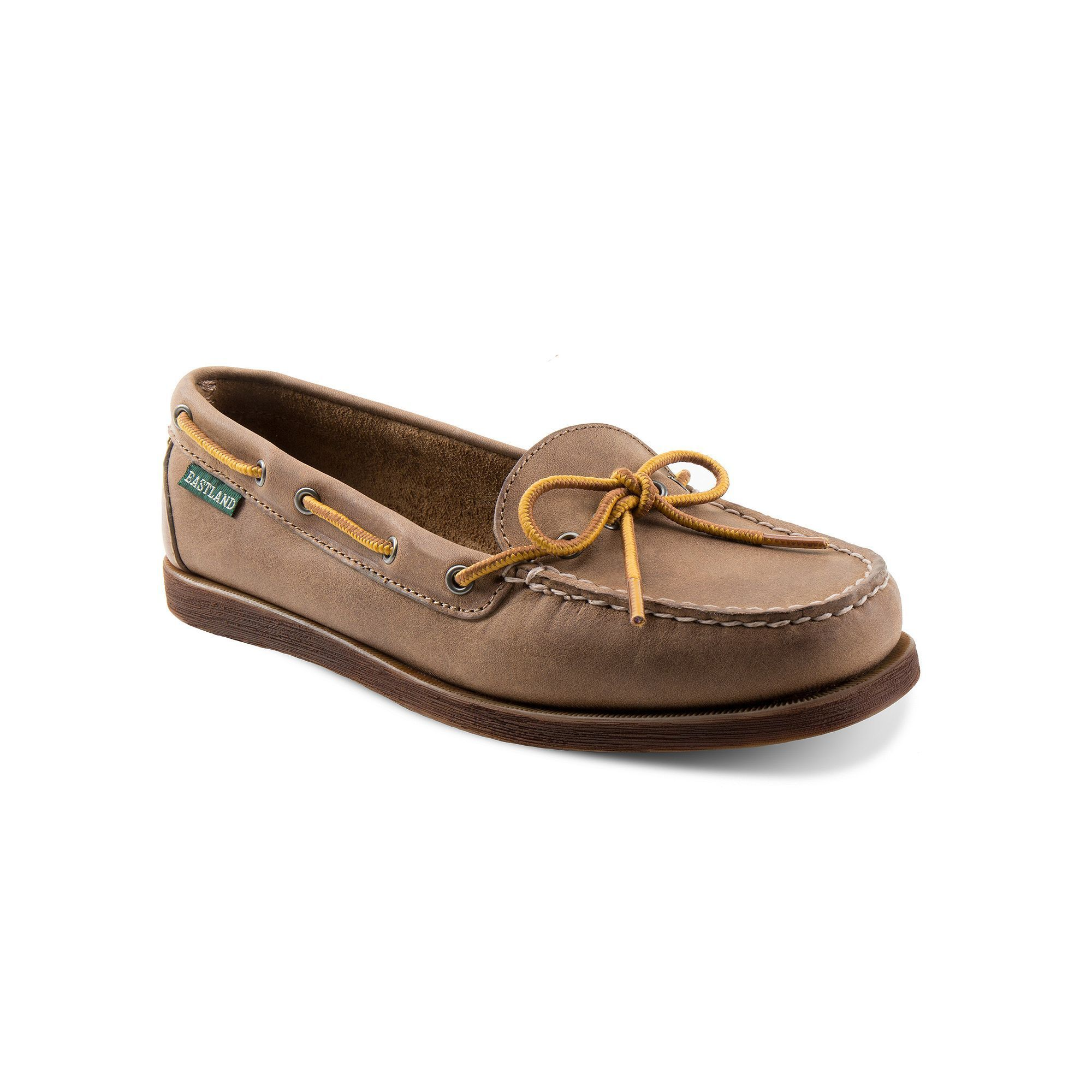 0191c920118 Eastland Yarmouth Women s Slip-On Leather Boat Shoes