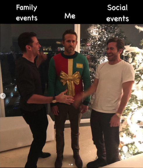 Sweater prank on Ryan Reynold is the latest meme sensation