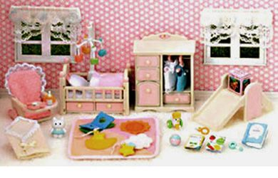 sylvanian Families - Nursery Bedroom Set Itapos | Baby\'s Room ...