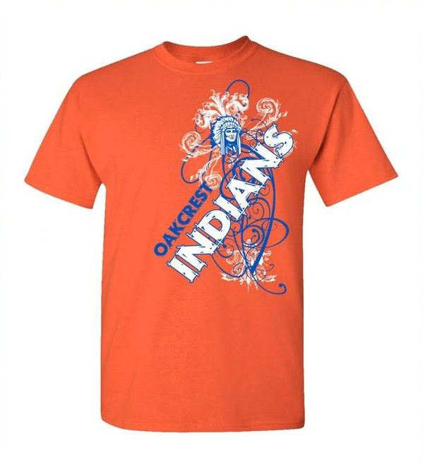 School Shirt Design Ideas design custom high school t shirts online by spiritwear Indian Spiritwear T Shirt Design School Spiritwear Shirts And Apparel Use Your Mascot