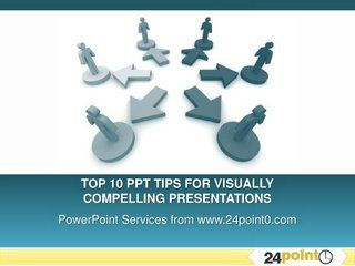 Top 10 Tips For Visually Compelling Presentations by 24Point0 , via Slideshare