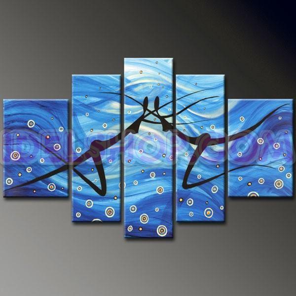 1000  images about quadri dipinti a mano stampe su tela olio su ...