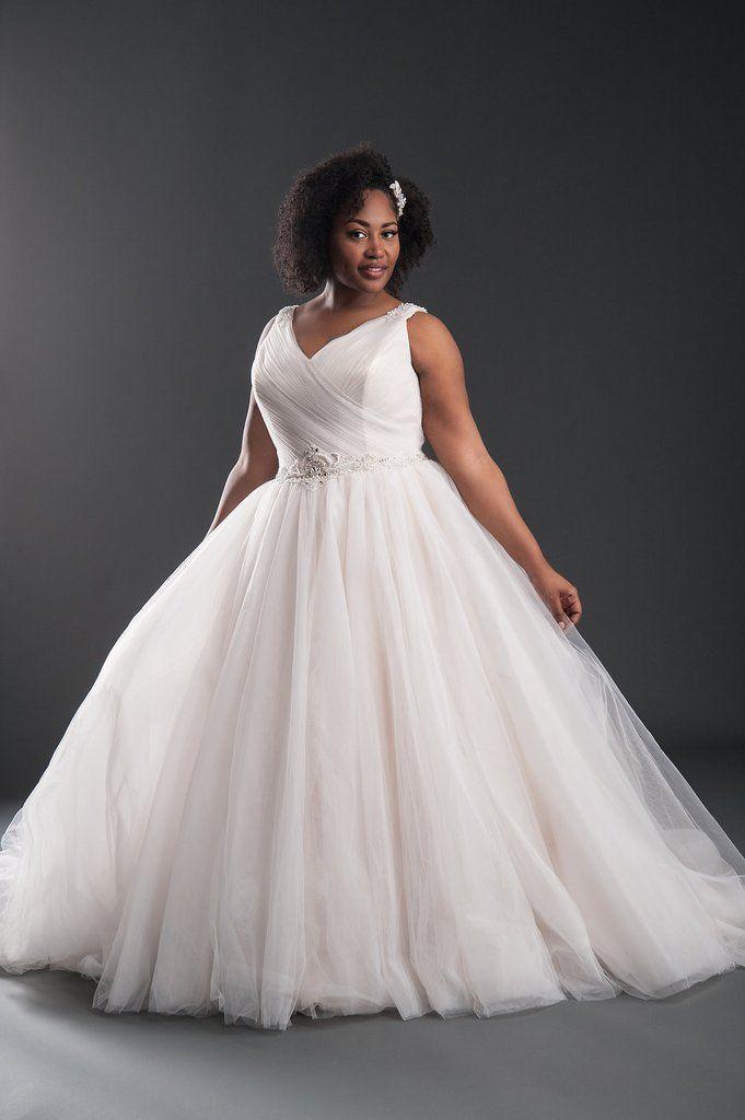 Nina Wedding Dress Plus Size Belle Curvy Couture Belle Curvy