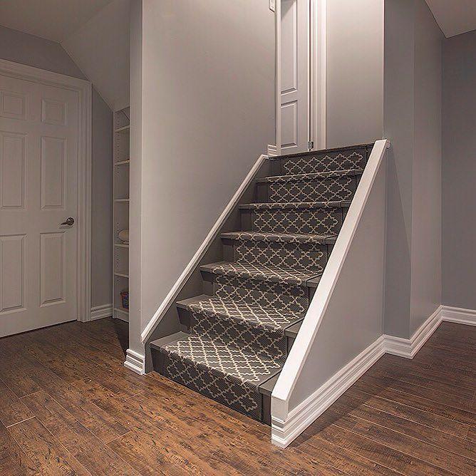 Basement Stairs Ideas. #basementrenovation