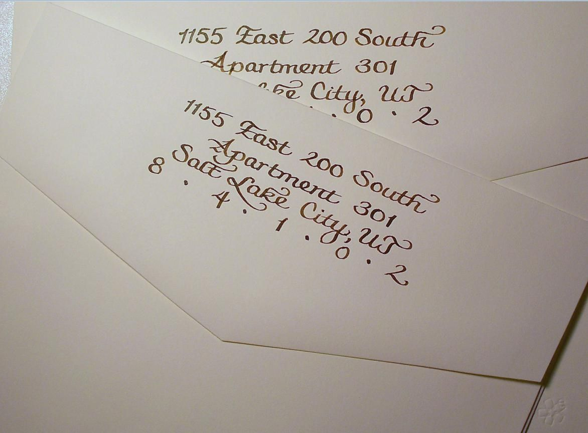 tips for choosing address a wedding invitation designs