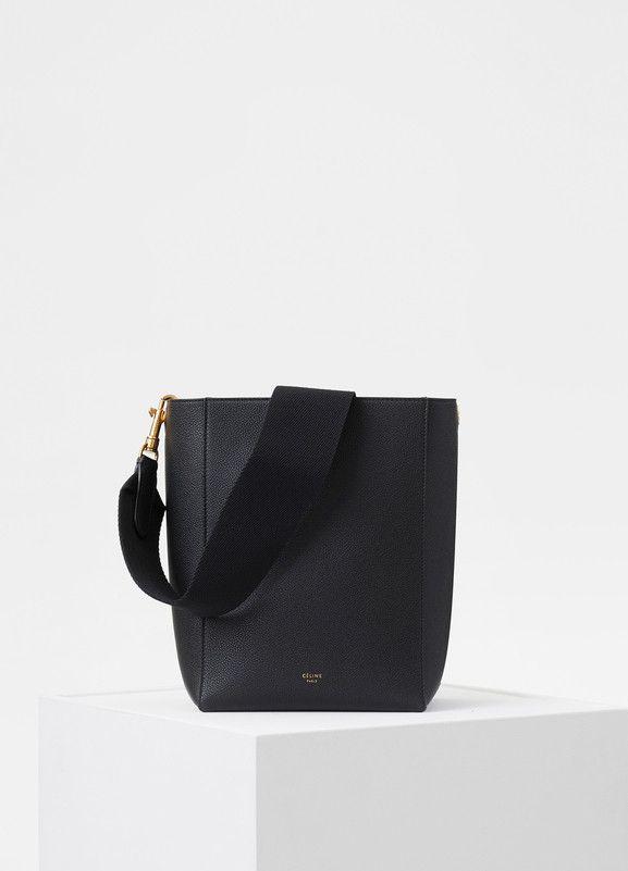 27e06dd5d9ce Small Seau Sangle Bag in Soft Grained Calfskin - Céline