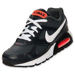 promo code 1ae78 7872f Men s Nike Air Max IVO Leather Running Shoes   FinishLine.com   Anthracite  White Crimson