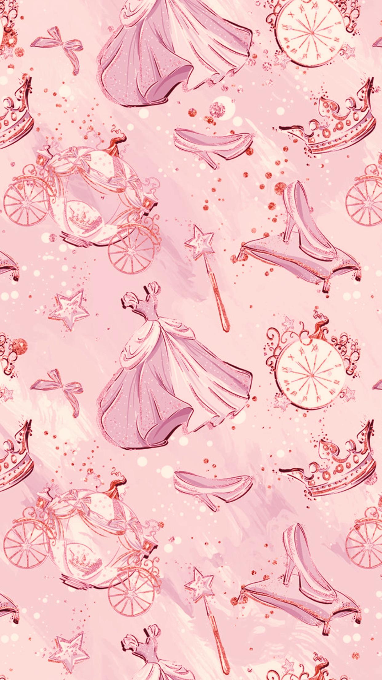 Iphone Pink Disney Wallpaper