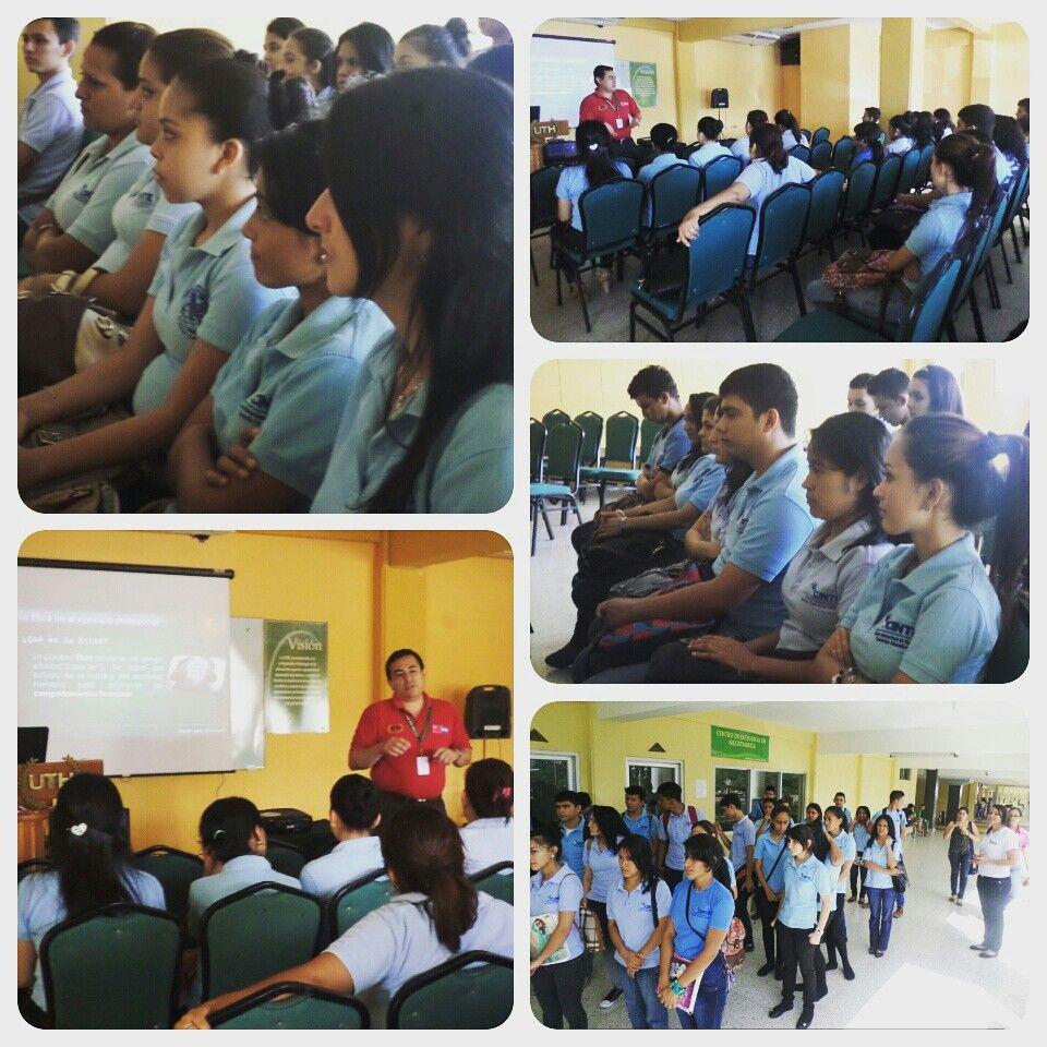 Visita del colegio #CINTE en #UTH #Honduras