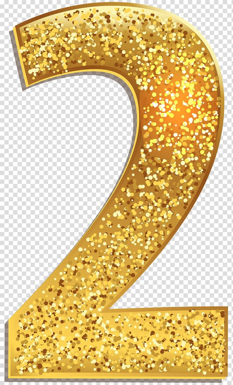 Gold Colored 2 Number Gold Number 1 Transparent Background Png Clipart Clip Art Transparent Background Png Wedding Invitations Borders