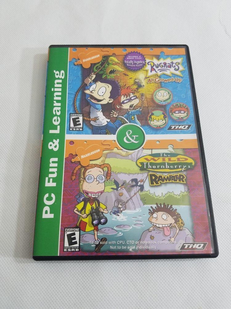 Nickelodeon Rugrats Collection Wild Thornberrys & All Grown