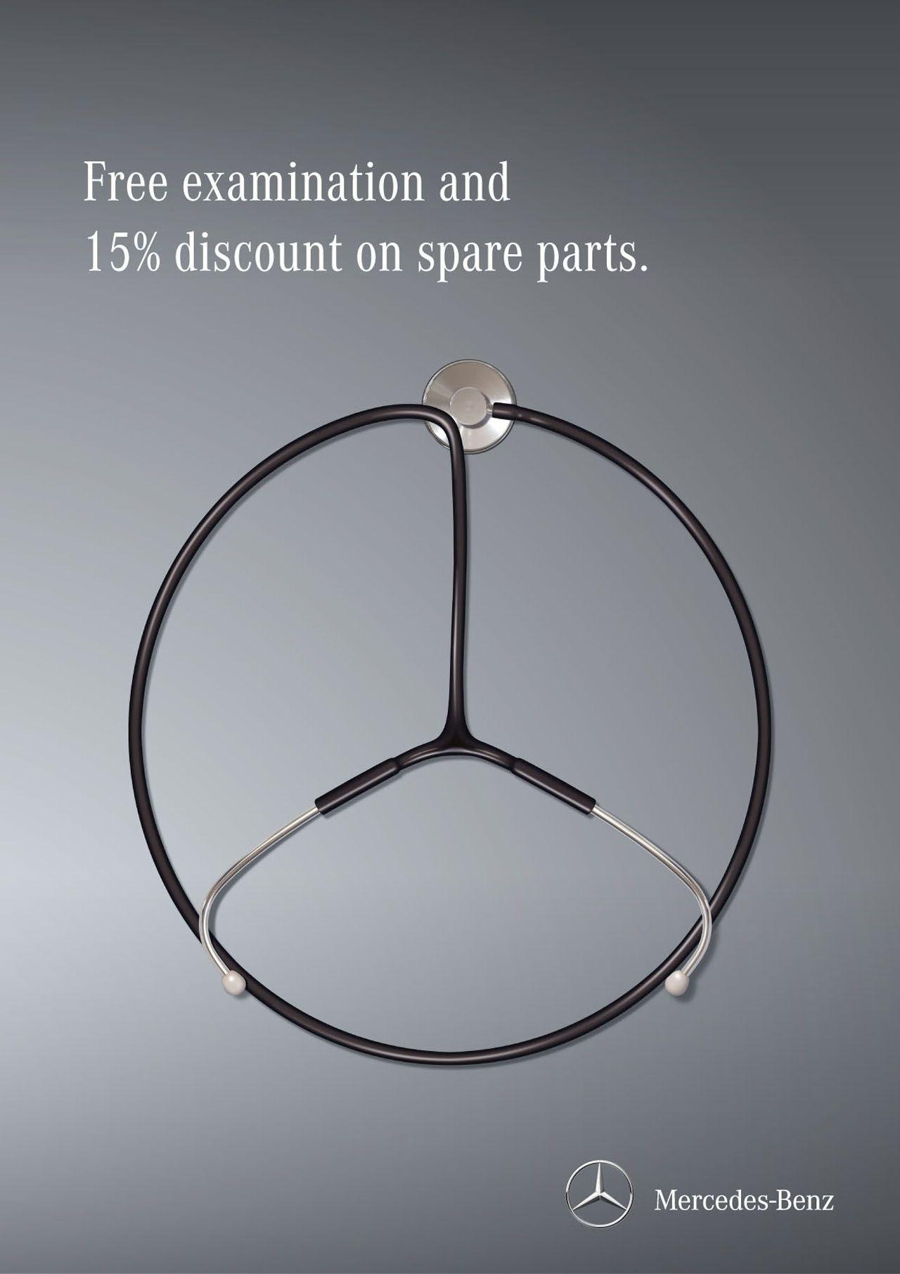 Adv mercedes benz commercials pinterest mercedes for Mercedes benz service parts
