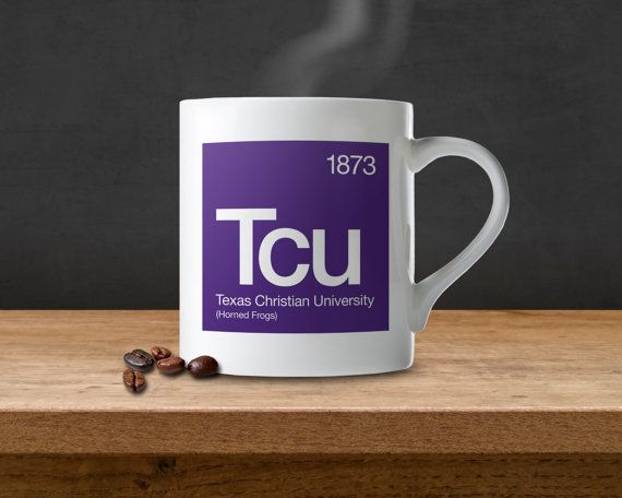 Texas Christian University Tcu Periodic Table By Sussieshome