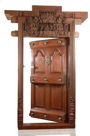 A Very Traditional Door Design Main Door Design Door Design