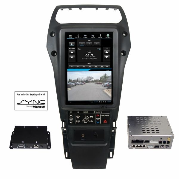 Integrated Control System For 2013 2015 Ford Police Interceptor
