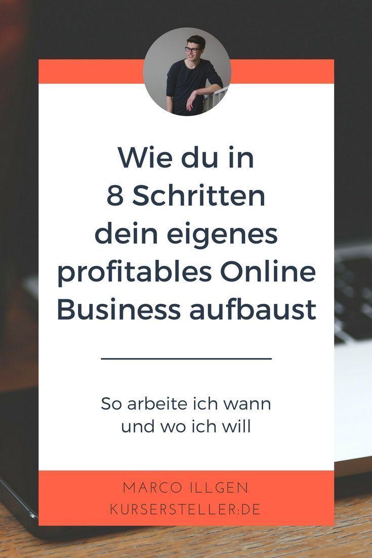 Die 8 Schritte zum profitablen Online-Business (mit ...