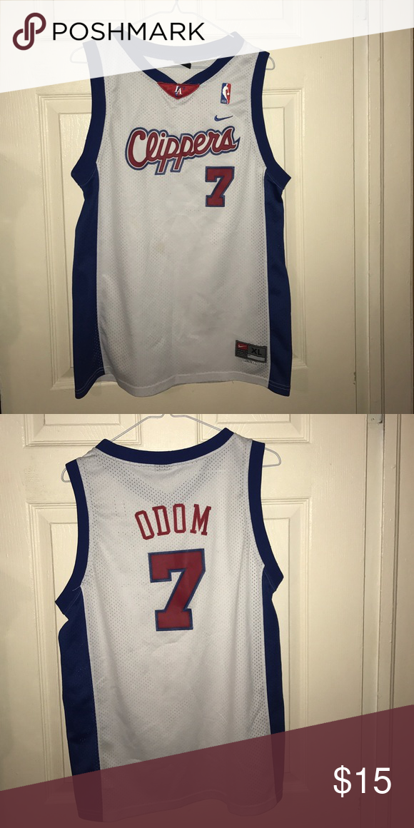 super popular 3cadd 9701a Nike LA Clippers Lamar Odom basketball jersey You are buying ...