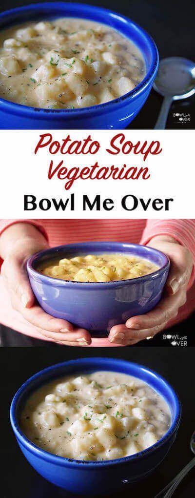 Easy Potato Soup #potatosoup