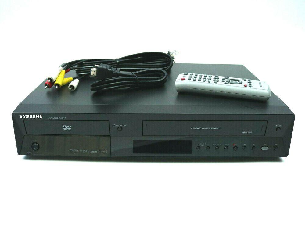 SAMSUNG DVDVCR VHS Recorder Combo Player DVDV9700 HDMI