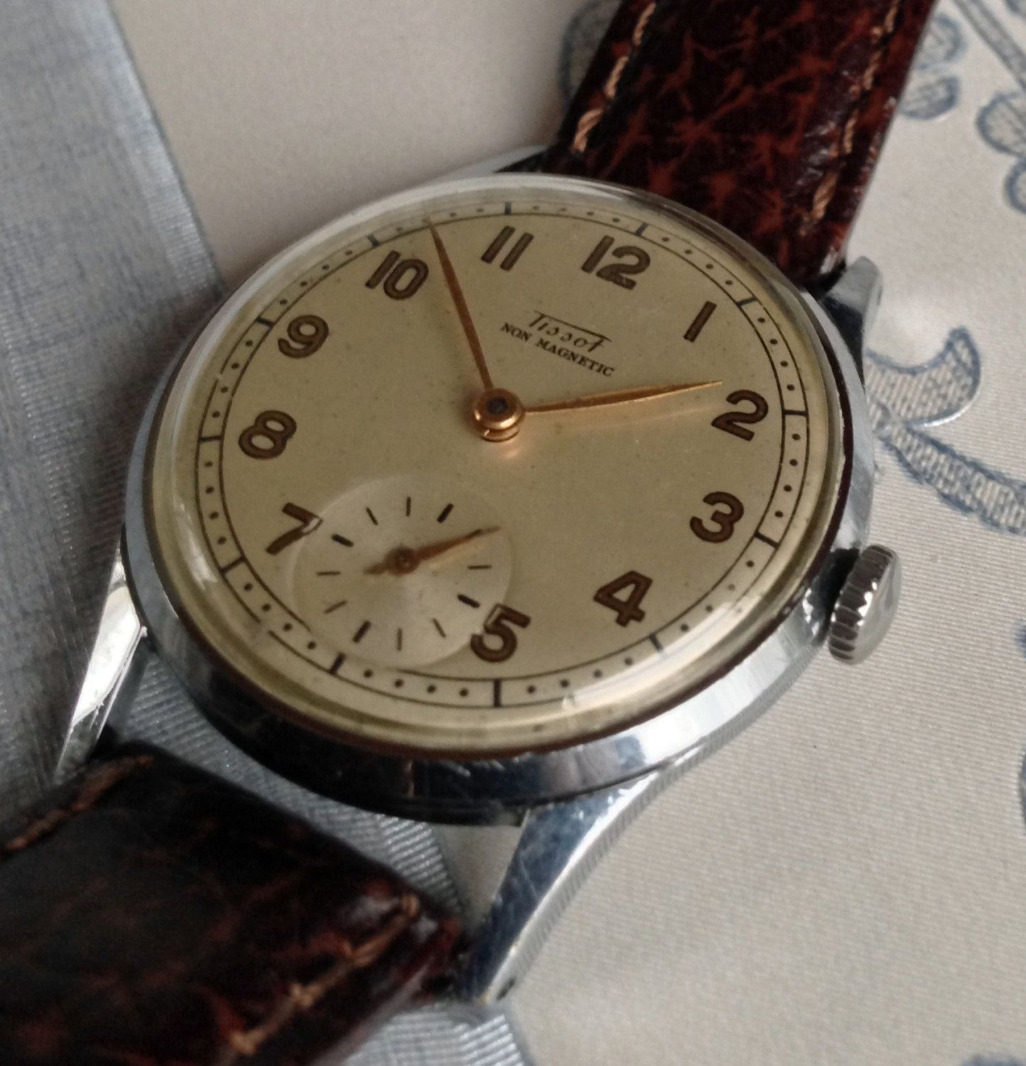 Jewel Nixon: RESERVED For Michael. Exceptional 1953 Tissot 15 Jewel