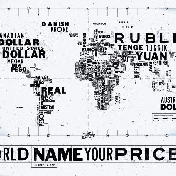 A List Of 161 World Currencies With Infographics Currency