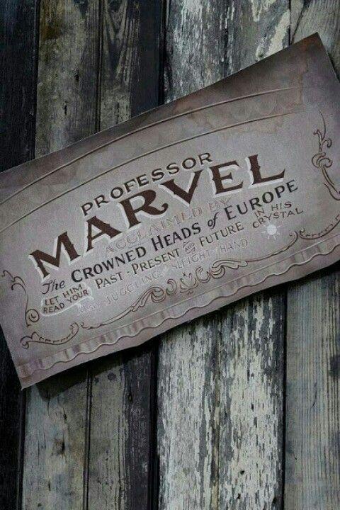 Professor Marvel.