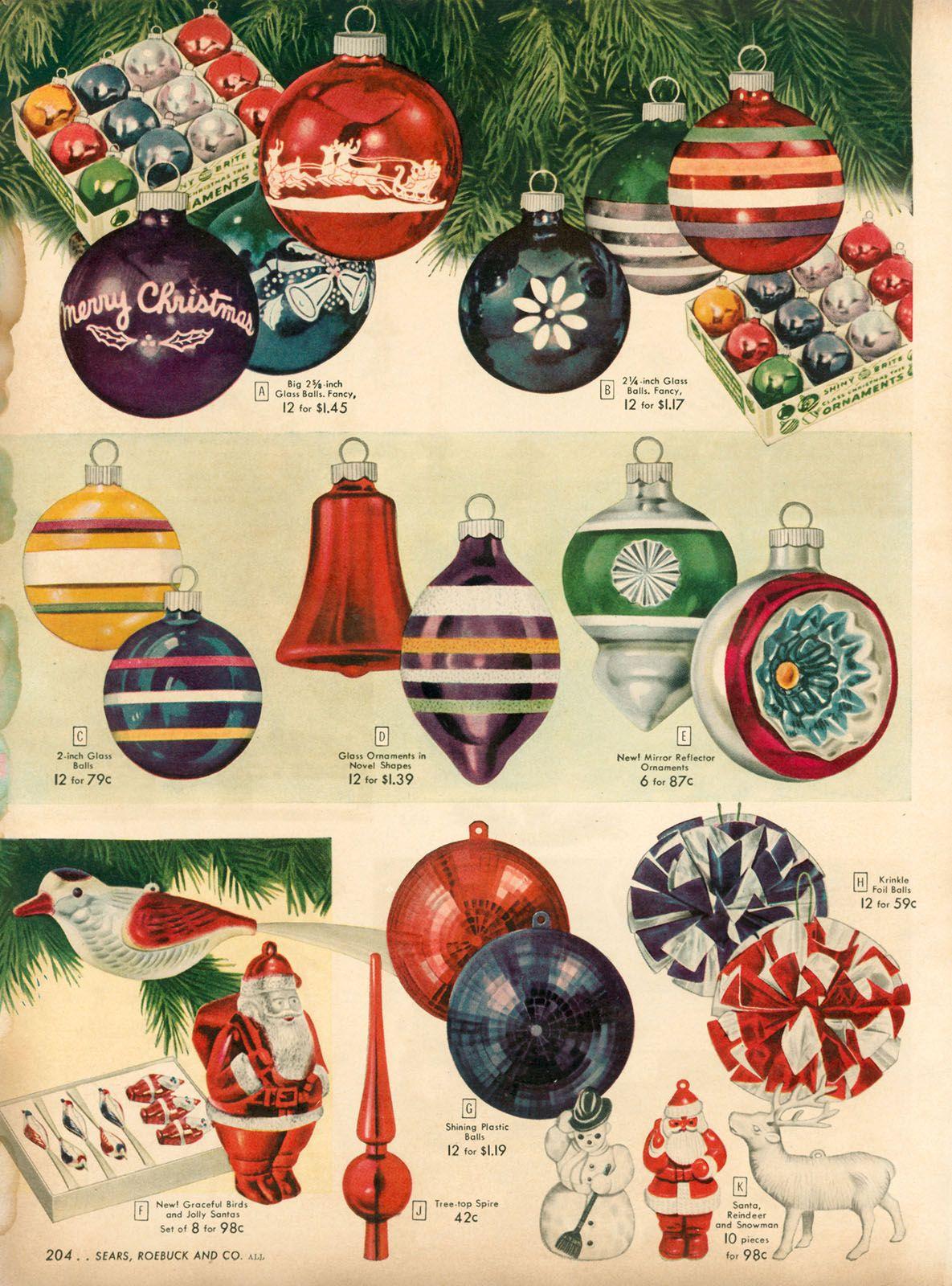 Christmas ornament catalogs - 1948 Xx Xx Sears Christmas Catalog P204 Flickr Photo Sharing