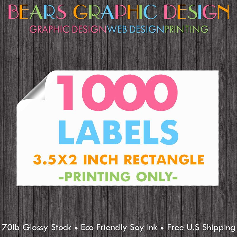 1000 printed labels business card labels sticker printing business card stickers business