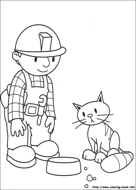 awesome bob-the-builder-88 coloring page   Color with Kids ...