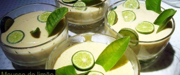 Foto - Receita de Mousse de limão top