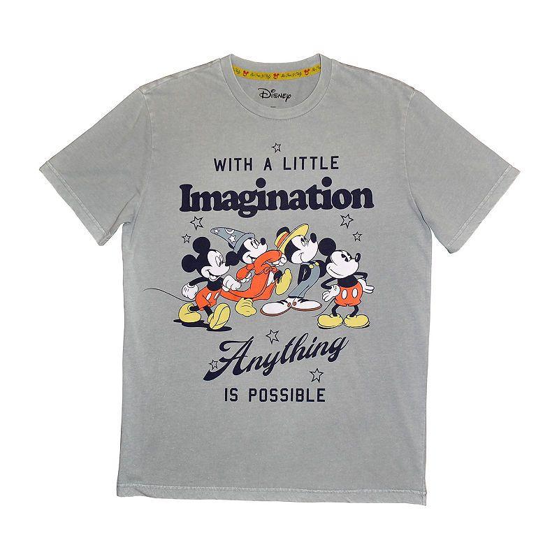 d9505c8a32 Disney Boys Crew Neck Short Sleeve Mickey Mouse Graphic T-Shirt Preschool /  Big Kid