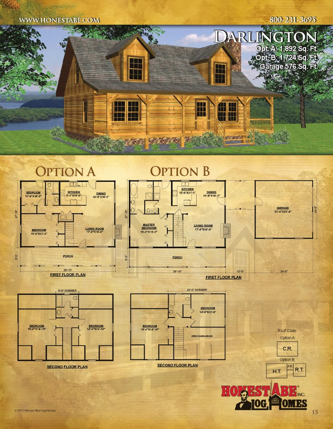 Honest Abe Log Homes designs, manufactures and builds energy-efficient,  custom log homes, log cabins and… | Log home floor plans, House floor  plans, Log cabin plans