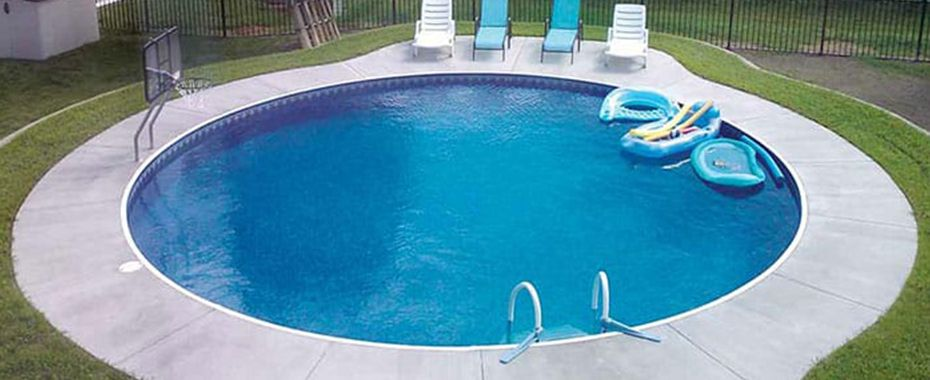 Round Swimming Pool Kits | Backyard | Inground pool designs ...