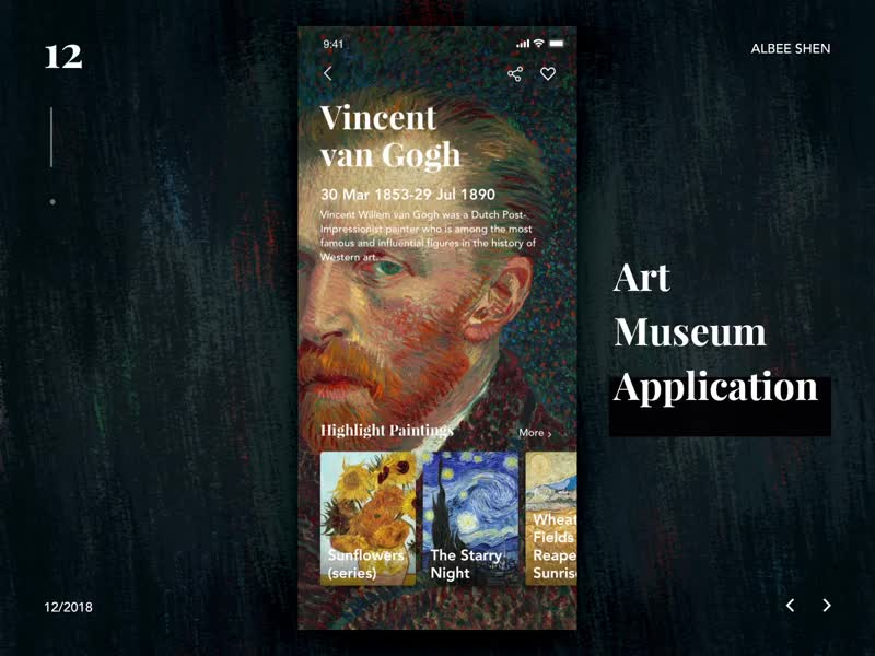 Reading app, Wavy type, Van Gogh museum and more… Interactions roundup! - Articles - Awwwards