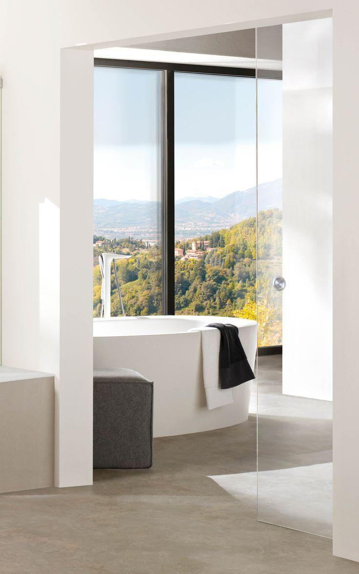 Glasturen Als Schiebelosung Fur Den Badbereich In 2020 Haus Wohnen Schiebe Tur