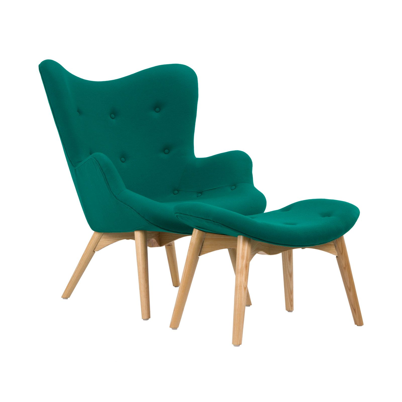 Mid century modern chairs - Mid Century Prop Your Feet Up And Sit Back For A Most Relaxing Experience Inspired By Mid Teal Chairmodern