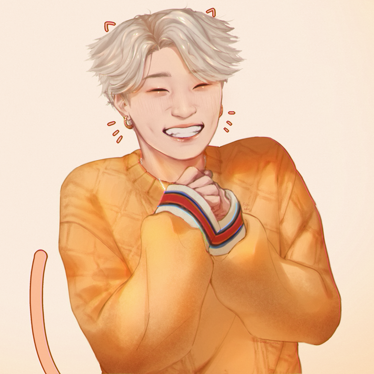 Pin By On Ateez In 2020 Kpop Drawings Kpop Fanart Cute Drawings
