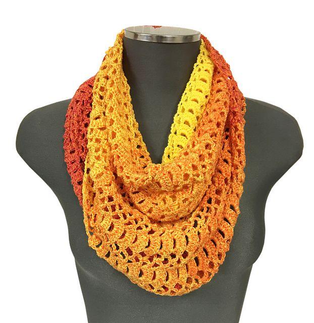 Crochet Scarf / Shawl - free pattern by Thomas B. Ramsden & Co. 78 ...