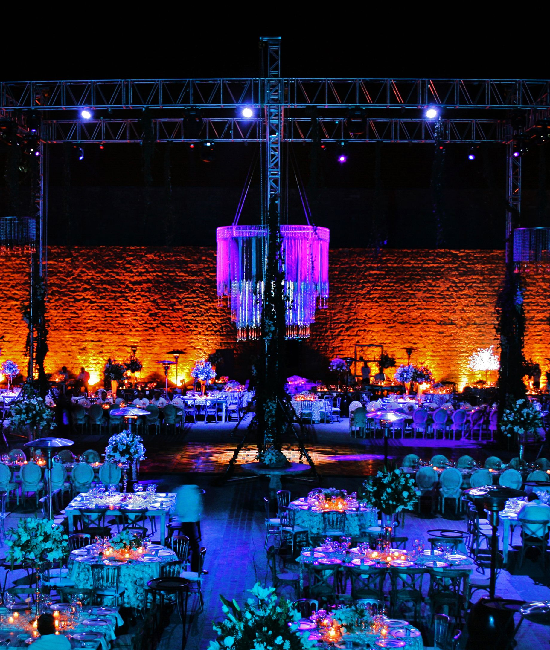Iluminacin para boda San Luis Potosdoblezeroevents