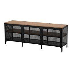 Fjällbo Tv Unit Black Studio Dreams Tv Bench Ikea Tv Solid