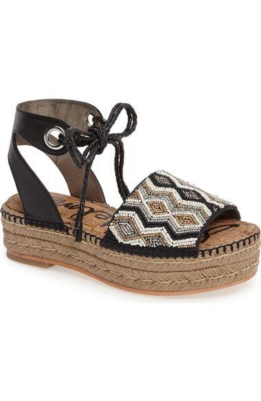 Sam Edelman Neera Espadrille Platform Sandal (Women) available at #Nordstrom