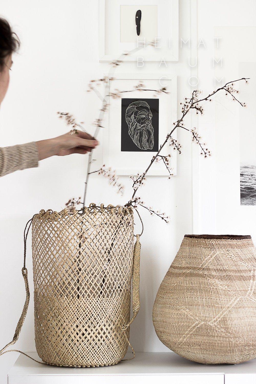 Scethno Basket Action Shot Heimatbaum Com Handmade Baskets