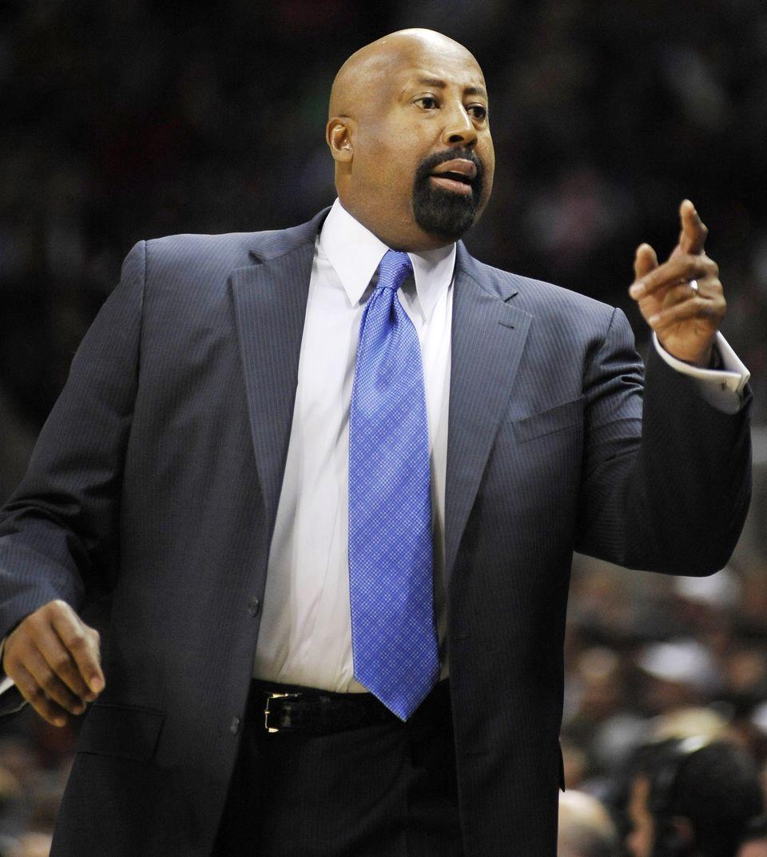 Mike Woodson NY Knicks Head Coach New York Knicks Pinterest