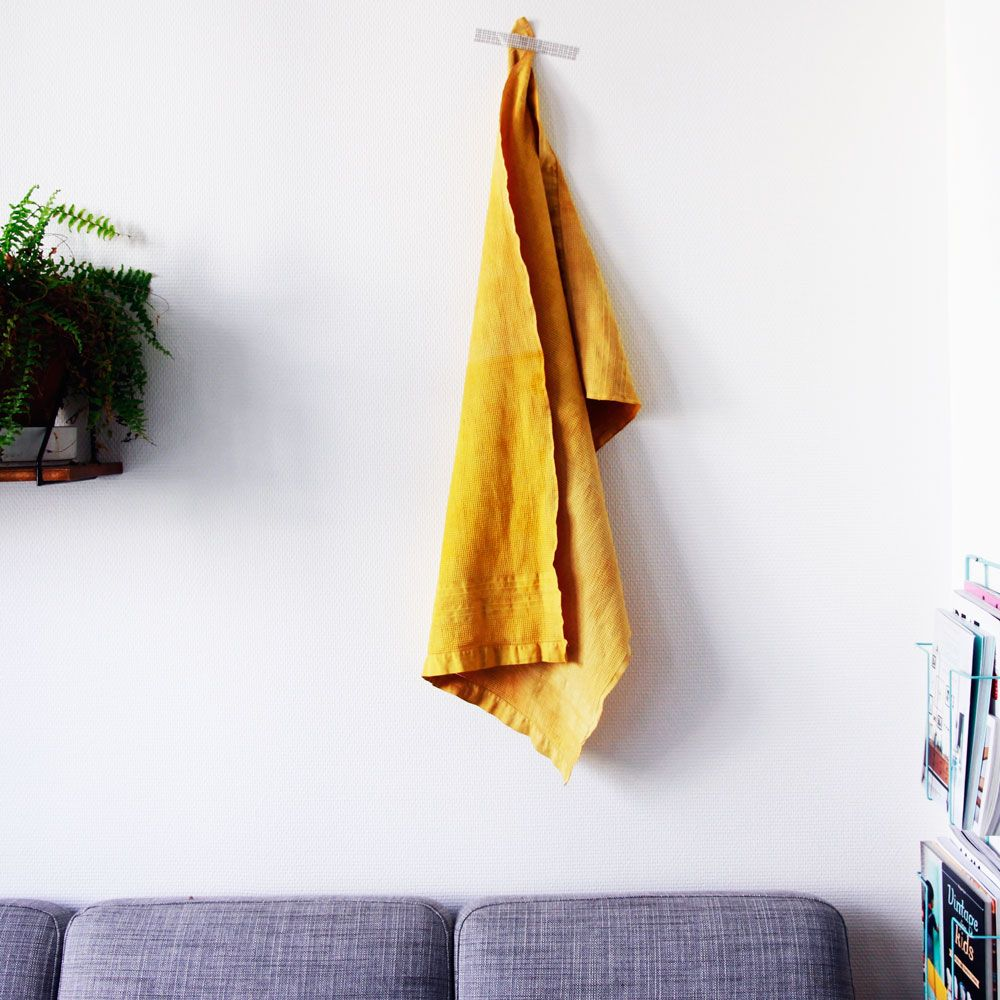 Teindre Un Canapé Tissus: Teindre Un Lange Au Curcuma! Hyper Facile Et Naturel