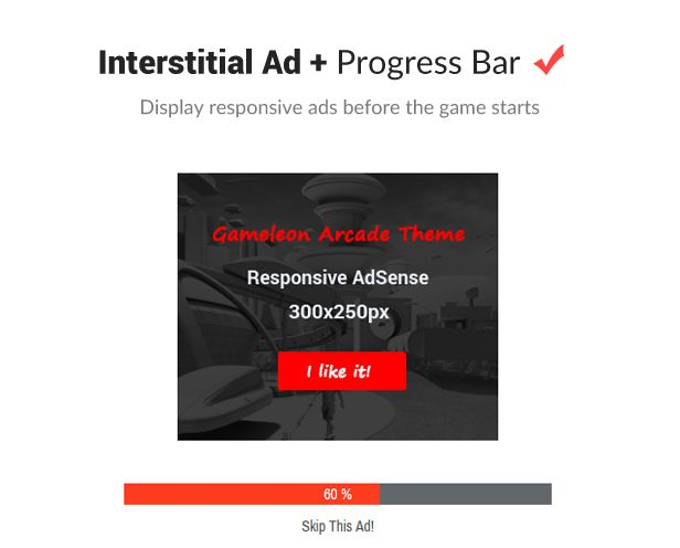 Interstitian Ads System