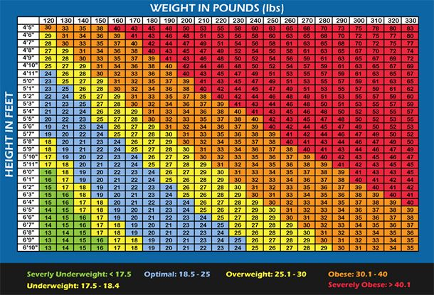Weight loss by body type