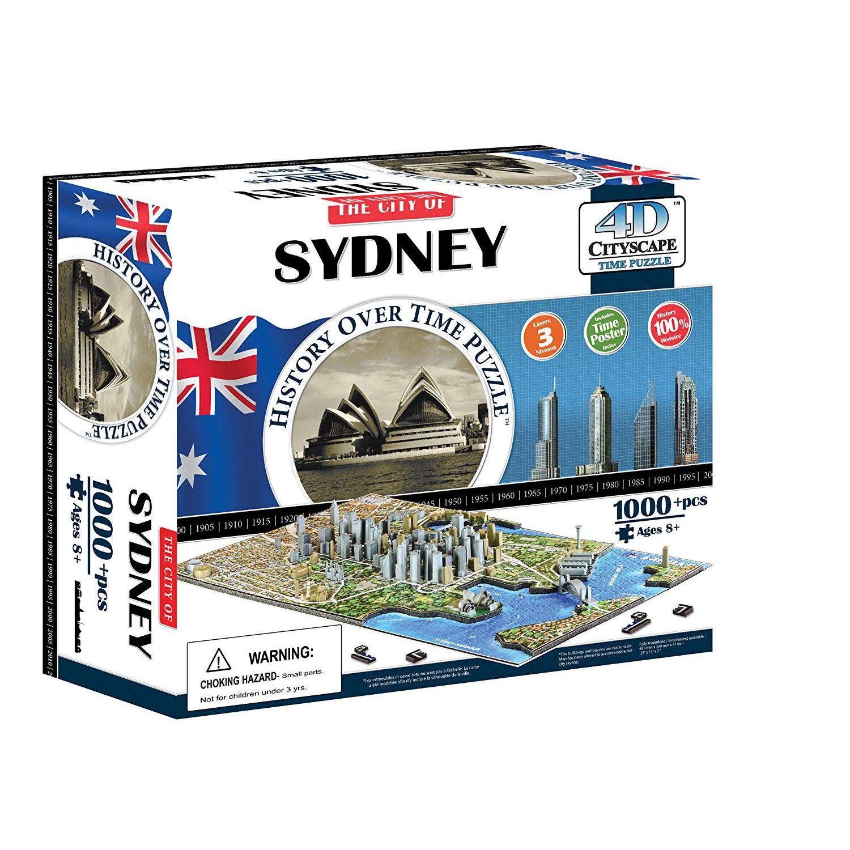 , 4d Cityscape Puzzle – Sydney, Hot Models Blog 2020, Hot Models Blog 2020