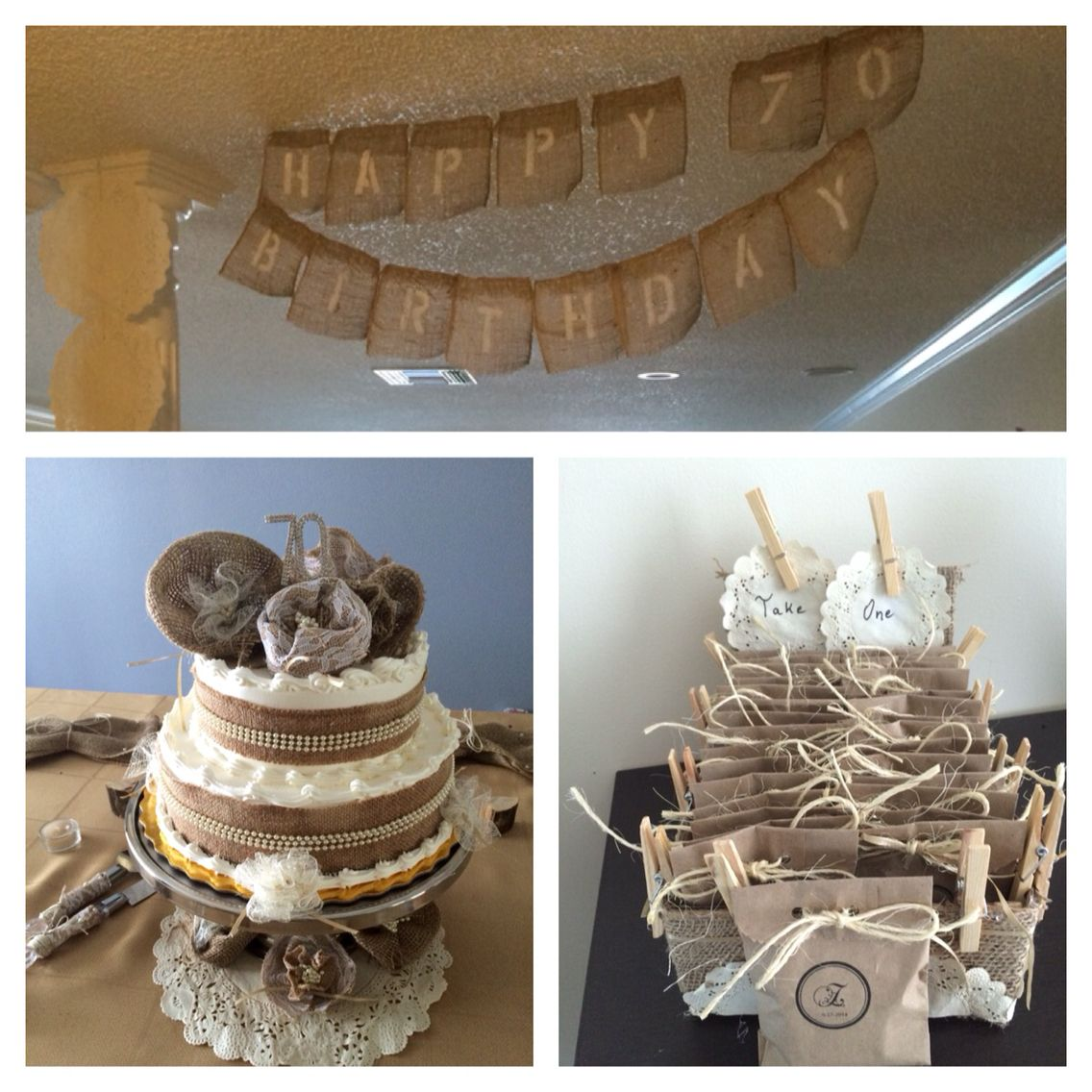 Rustic Birthday Decorations