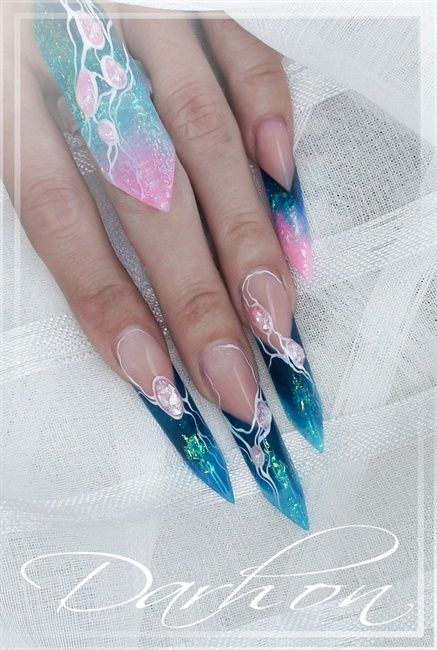 Edge Nail Art Gallery Unique Advanced Nails And Makeup Group